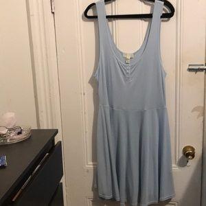 Forever 21 Baby Blue Dress